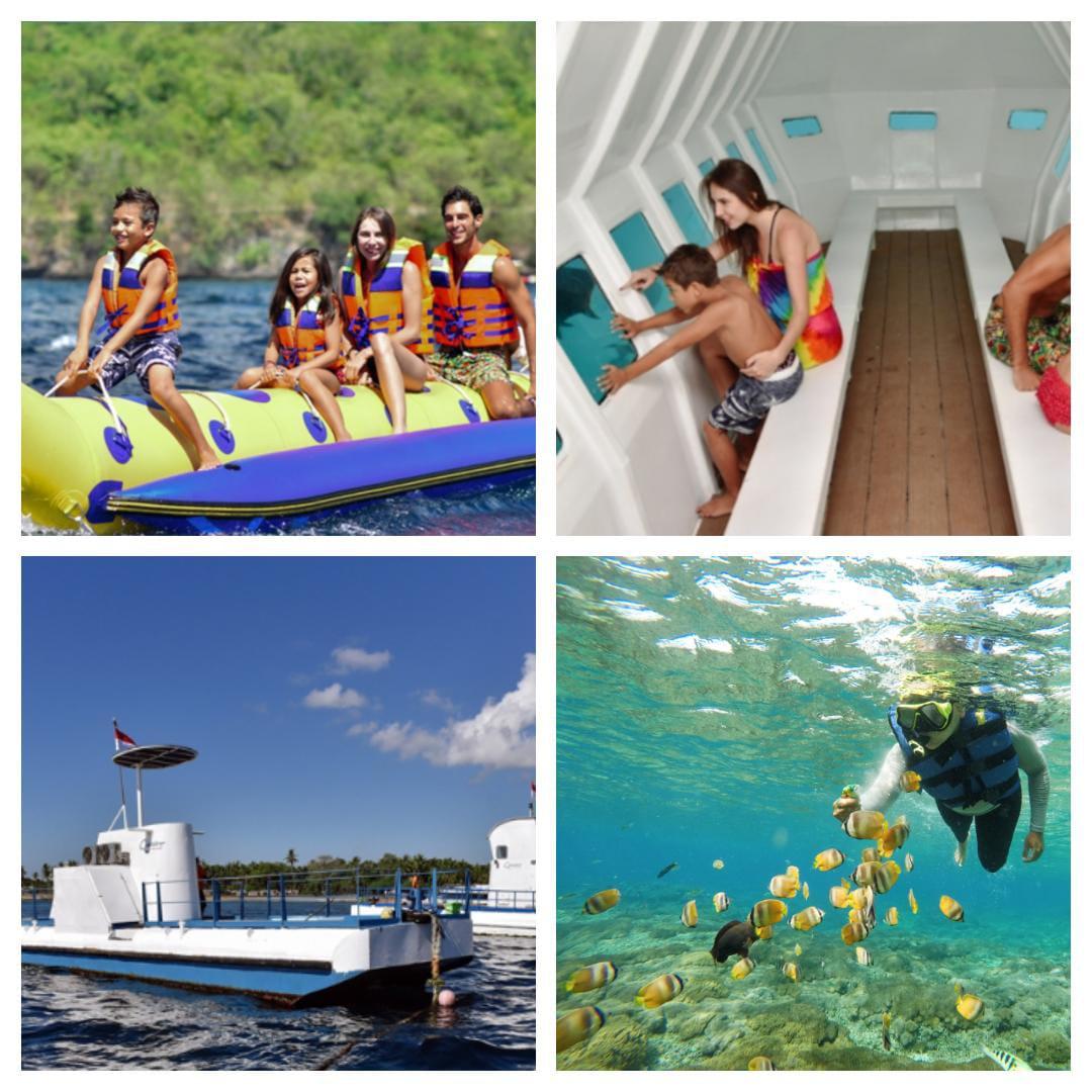Paket Tour 2H1M + Water Sport Nusa Penida